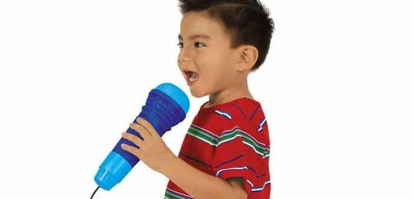 Micrófonos para niños.