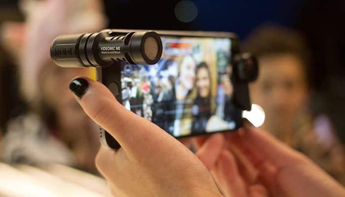 Micrófono para smartphone